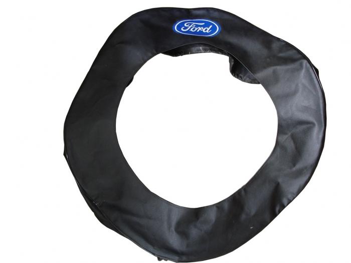 Capa Proteção do Step (Preta) - Aro 21 - Com Logo Ford - Ford Modelo a 28-29