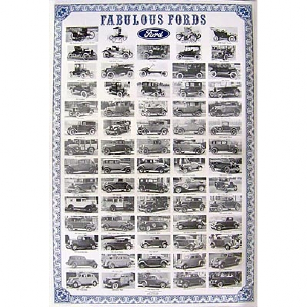 Poster Fabulous Ford - Ford Anos 09-48