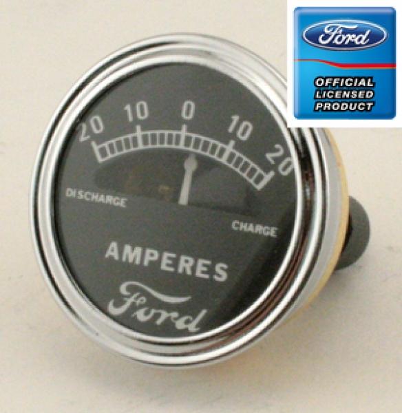 Amperímetro 20-20 - Ford Modelo a 1928-31 (com escrita Ford)