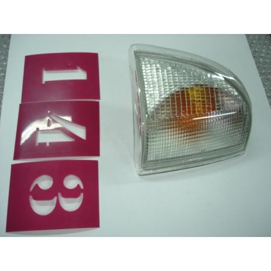 Lanterna Dianteira Ld - Del Rey/scala/pampa - Cristal Ht