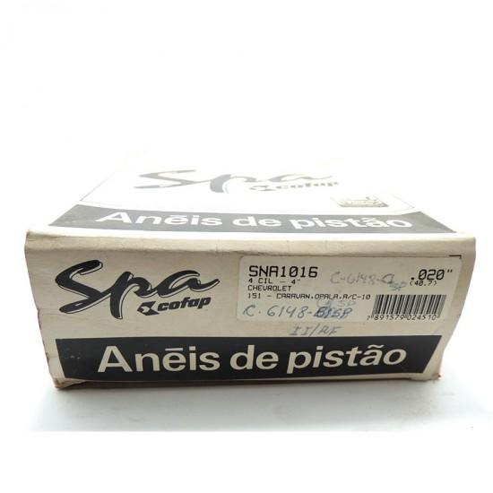 Anéis Pistão Caravan / Opala - 0,020