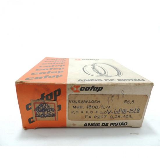 Anéis Pistão Fusca 1600 / Tl / a - 0,25