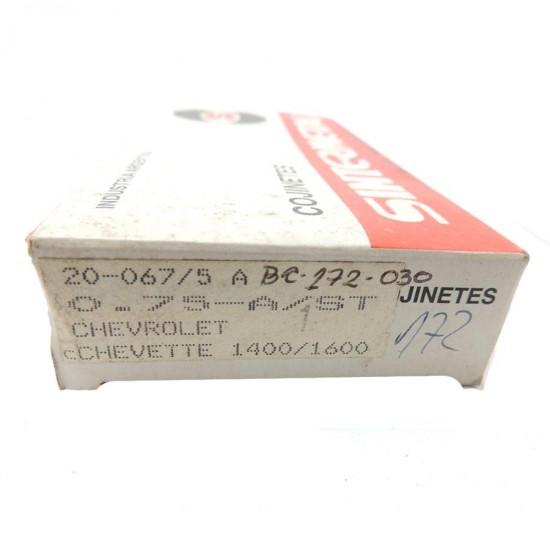 Bronzina Central Chevette 1400 / 1600  - 0,75