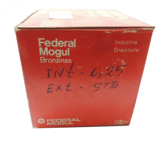 Bronzina de Mancal Vw 1300/1500/1600 Std - Federal Mogul - 0,25