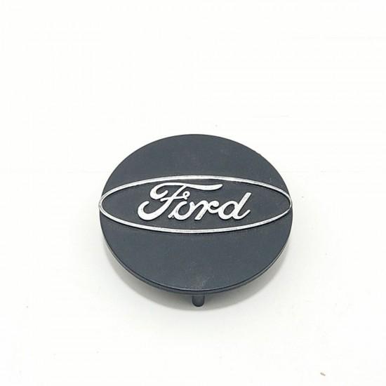 Calotinha Roda Central (Logo Cromado) Ford