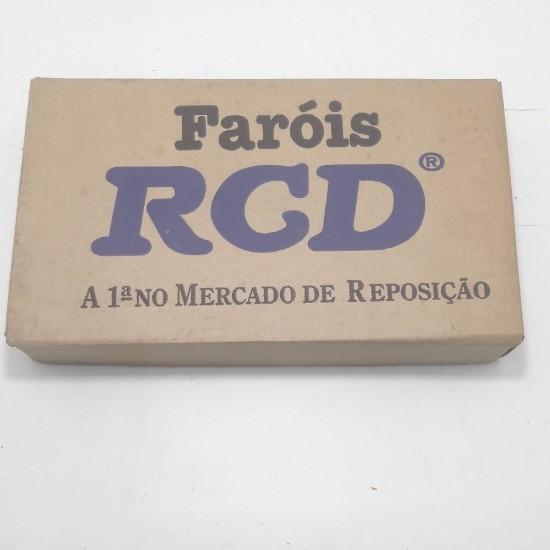 Vidro Lente Farol Ld Santana 85/90