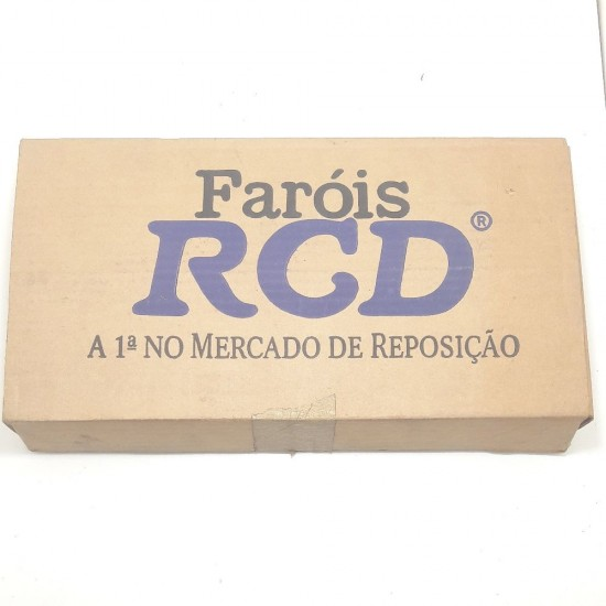 Vidro Lente Farol Rcd L.E Del Rey 85/