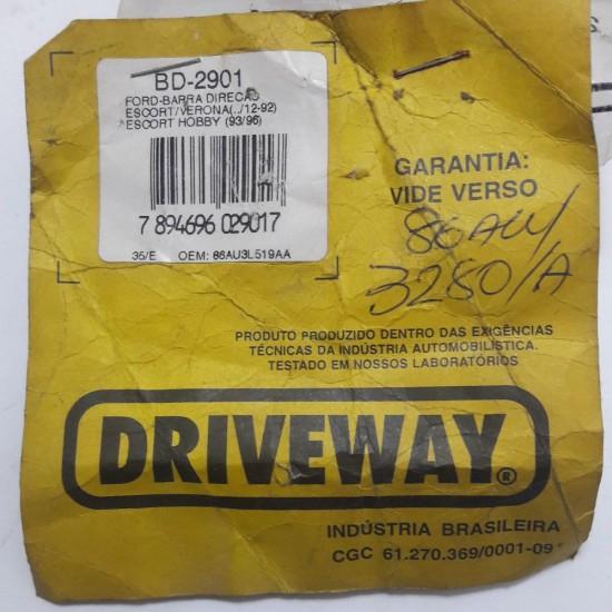 Barra Direção Ford Escort Verona /12-92 Escort Hobby 93/96