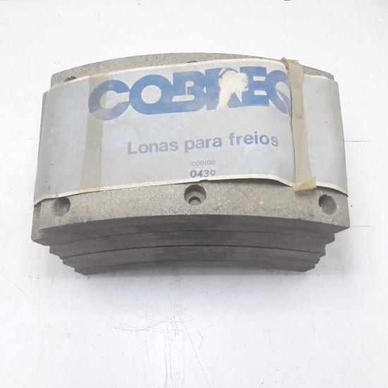 Lona de Freio Dianteiro F 7000 Ft 7000 F12000 F19000 Cobreq 439