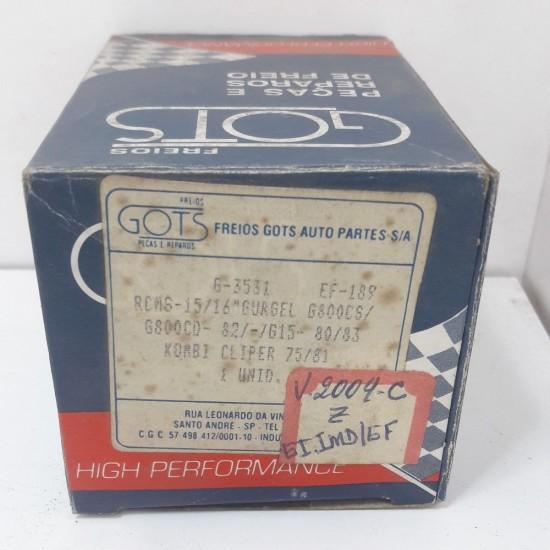 Reparo Cilindro Mestre Gurgel G800Cs G800Cd 82 em Diante Kombi Clipper 75 Á 81 Gots G3531