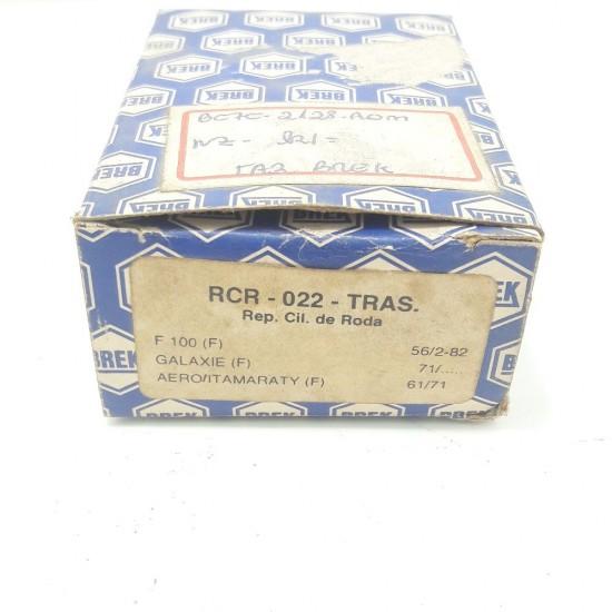 Reparo Cilindro Roda Tras. F100 Galaxie Aero Itamaraty Rcr 022