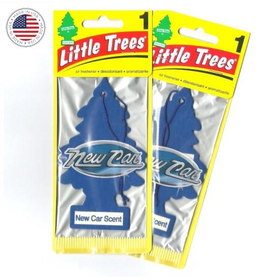 2 Little Trees Aromatizante Cheirinho Carro New Car Scent Original