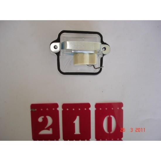 Lanterna Conj - Luz de Placa - Fusca
