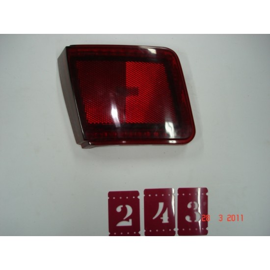 Extensão Lanterna Traseira LD - Chevette Hatch - Vermelho - Bianco Savino