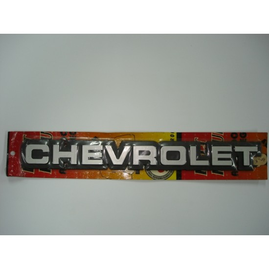 Emblema Chevrolet Plástico