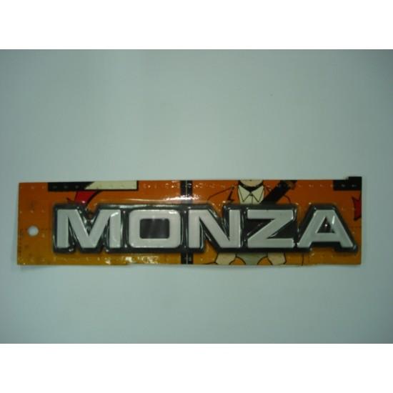 Emblema Monza Plástico
