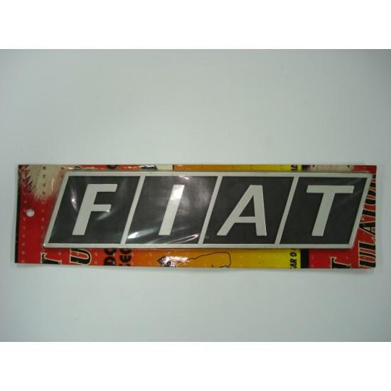 Emblema Fiat Plástico