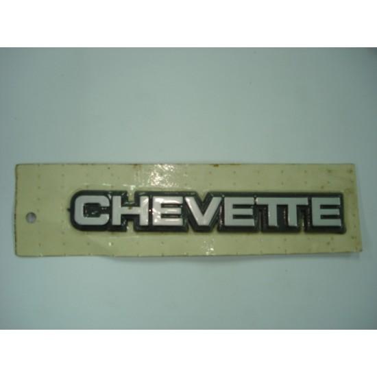 Emblema Chevette Plástico