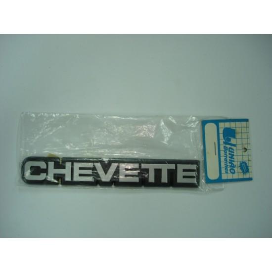 Emblema Chevette (Cor Cinza) Plástico