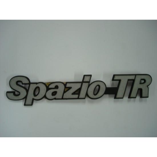 Emblema Spazio- Tr Plástico