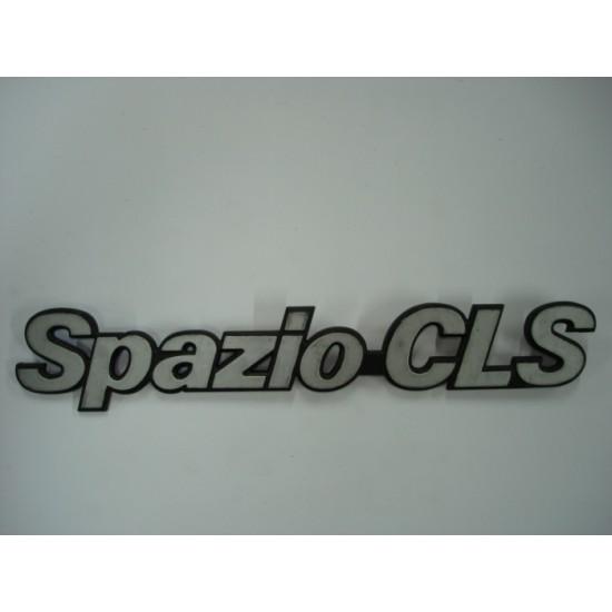 Emblema Spazio - CLS Plástico