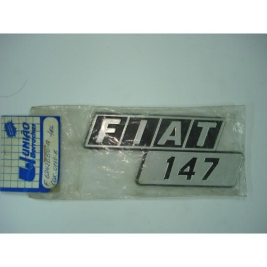 Emblema Fiat 147 Plástico