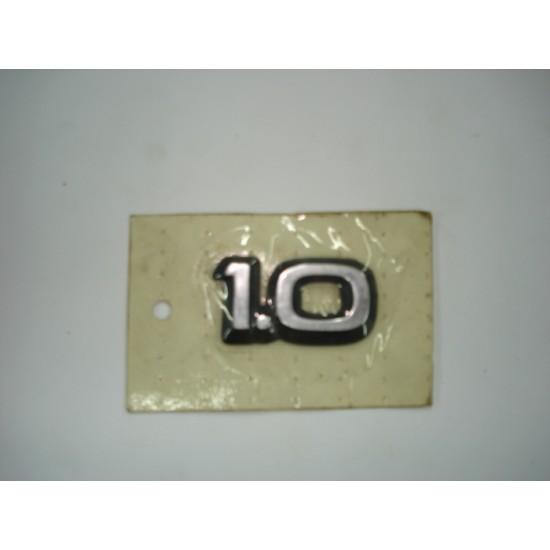 Emblema 1.0 Plástico