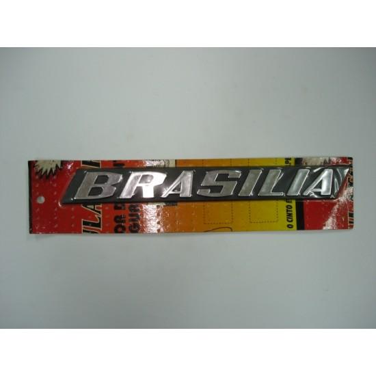 Emblema Brasília Plástico