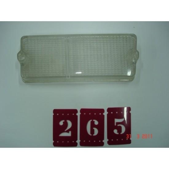 Lente Lanterna Dianteira LD - Fiat 147 - Cristal