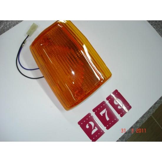Lanterna Dianteira L.E Uno 84/90 Ambar Godks