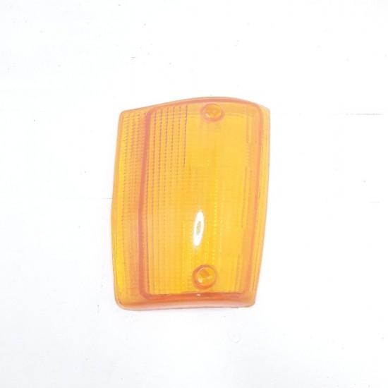 Lente Lanterna Dianteira Le Uno 85/89 Ambar Cofran