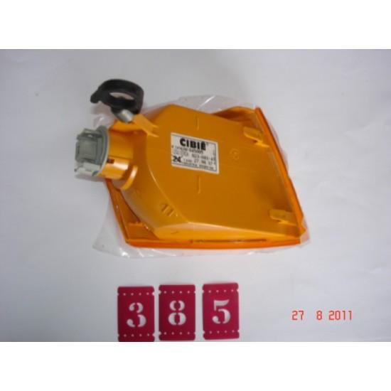 Lanterna Dianteira LE - Escort 93/Arg - Ambar Cibié