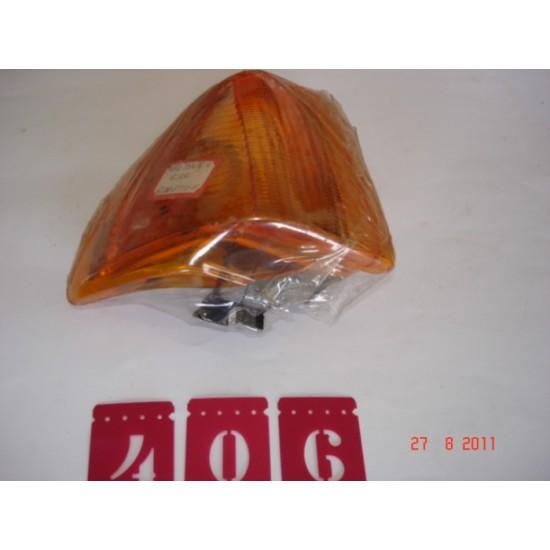 Lanterna Dianteira LD - Escort 84-86 - Pislon Ambar