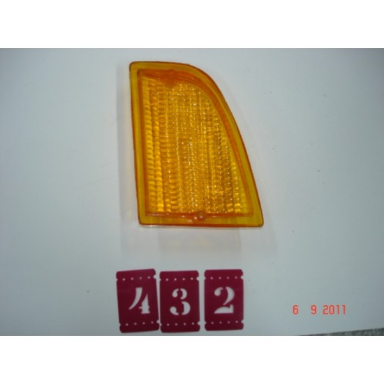 Lente Lanterna Dianteira LD - Corcel II - Ambar Argencar
