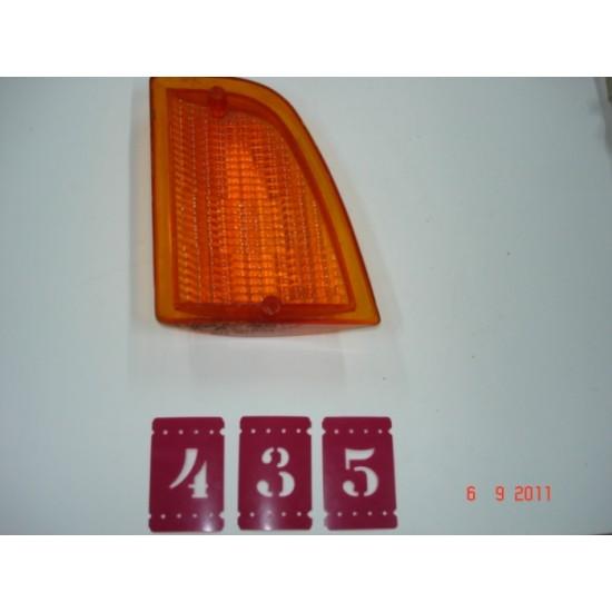 Lente Lanterna Dianteira LD - Corcel II - Ambar Original Ford