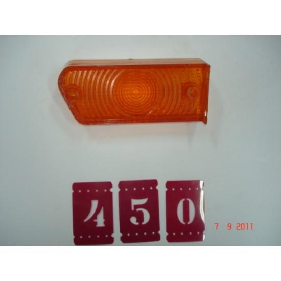 Lente Lanterna Dianteira LE - Corcel I 73/77 - Ambar Leão